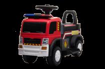 Porteur Pompier 6V - Camion Electrique Pour Enfants