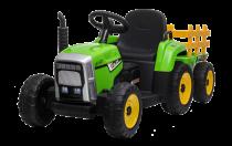 12V Tracteur avec remorque - Tracteur Electrique Pour Enfants